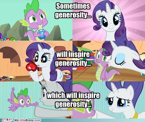 generosity rarity spike TV - 6253144576