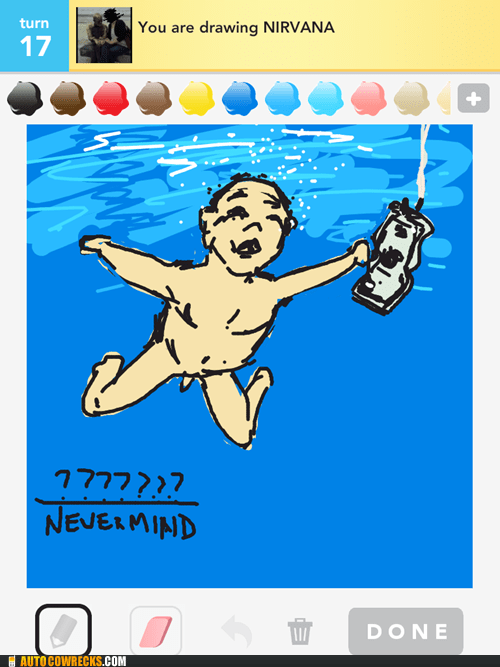 draw something grunge Music nevermind nirvana - 6253261312