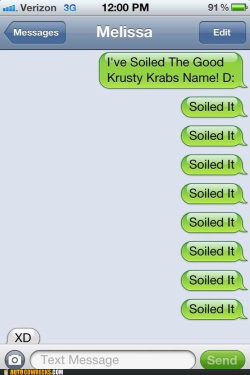 Hall of Fame,iPhones,krusty krab,mr krabs,soiled it,SpongeBob SquarePants