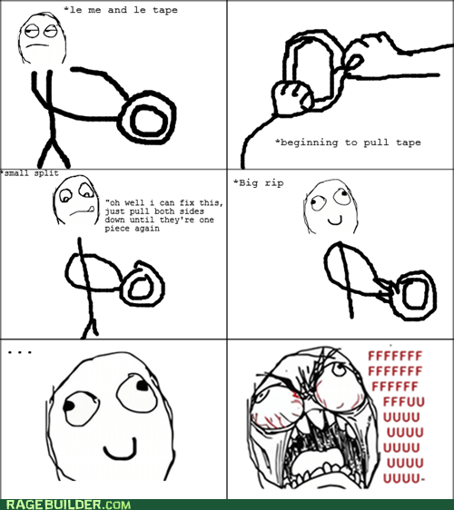 fu guy Rage Comics rip tape - 6253416960