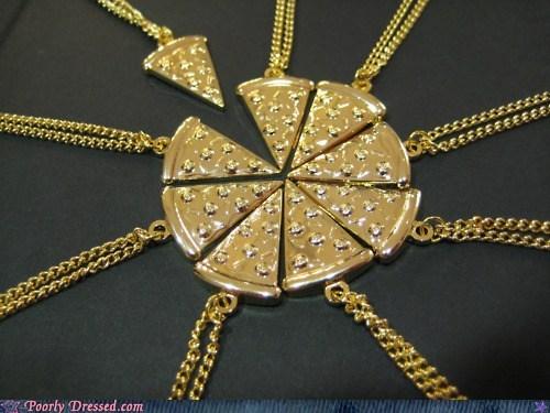 design fashion necklace pizza - 6253460736
