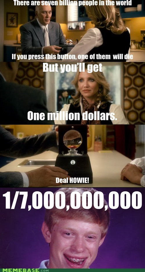 bad luck brian,Memes,money,seven billion