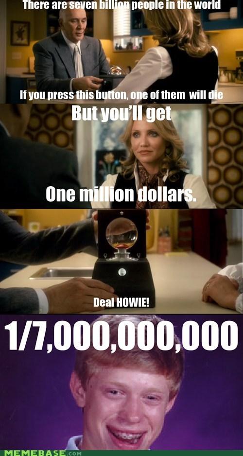 bad luck brian Memes money seven billion - 6253488640