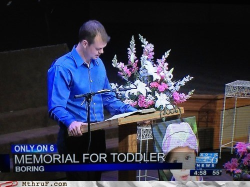 boring,evening news,headlines,memorial for toddler,news,news headlines