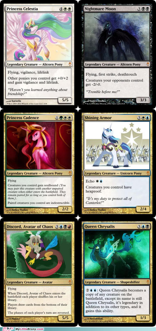 all the things crossover magic the gathering part 2 ponify - 6253712896