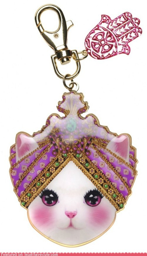 guru Keychain kitty smart turban