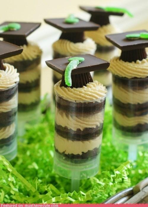 cake pops,epicute,frosting,graduation,peanut butter