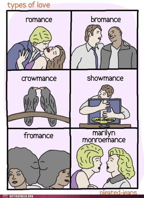 bromance marilyn monroemance romance showmance - 6254483200