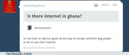 Ghana,sarcasm,tumblr