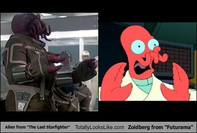 alien funny futurama Movie the last starfighter TLL Zoidberg - 6254543616