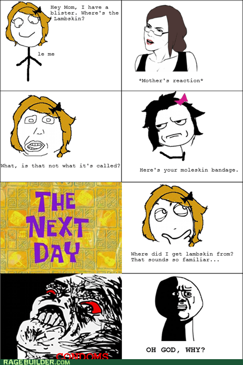 are you kidding me condoms oh god why Rage Comics - 6254641920