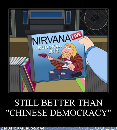 demotivational family guy kurt cobain nirvana