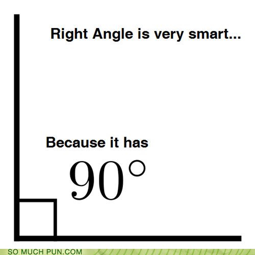 90,degree,degrees,double meaning,intelligent,literalism,right angle,smart