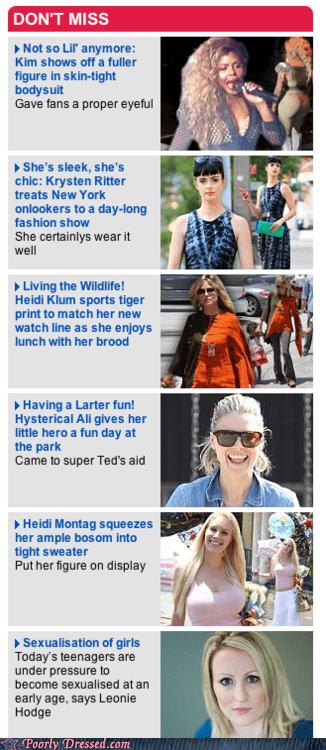 celeb fashion mixed messages news paparazzi
