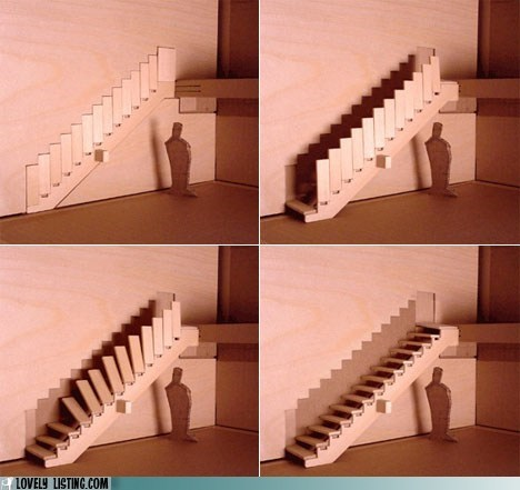 best of the week,concept,mechanized,model,stairs,wall