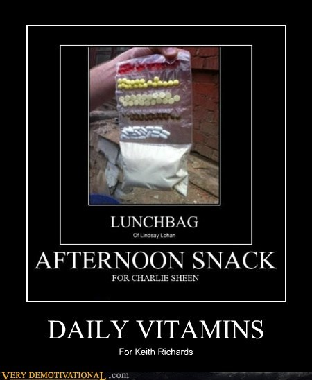 daily vitamins hilarious Keith Richards - 6255348480