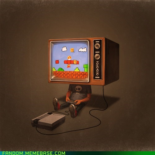 Fan Art NES nintendo video games - 6255484416