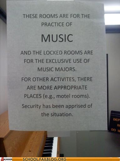 other-activities,Hall of Fame,music rooms,School of FAIL,security,sex in the music room