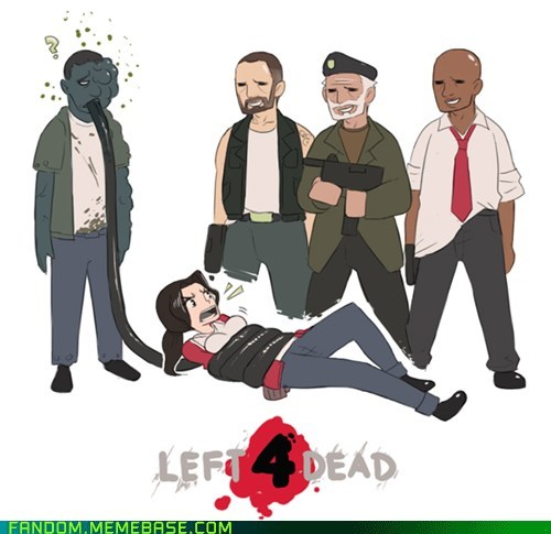 Fan Art ive-seen-enough-japanese ive-seen-enough-japanese-entertainment Left 4 Dead smoker video games - 6255695872