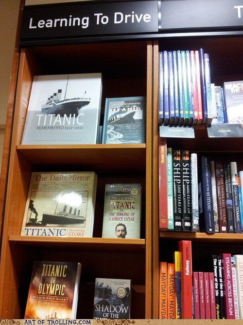 books driving IRL titanic - 6255711744