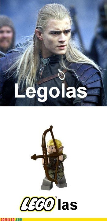 legolas legos Lord of the Rings shut up and my money silver the internets