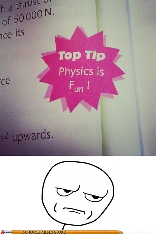 I see what you did there physics-is-fun top tip - 6255824384