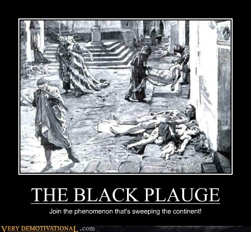THE BLACK PLAUGE Join the phenomenon that's sweeping the continent!