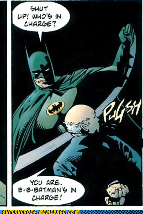 batman in charge slapping Straight off the Straight off the Page wtf - 6256140800