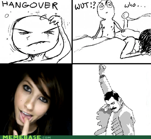 boxxy f yeah freddie one night stand Rage Comics - 6256146944