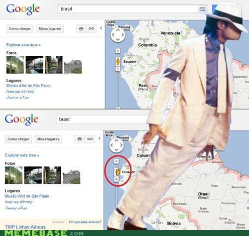 google maps Memes michael jackson smooth criminal thriller