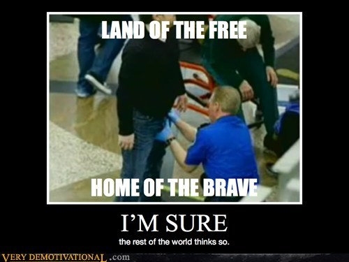america grope hilarious home of the brave TSA - 6256151808