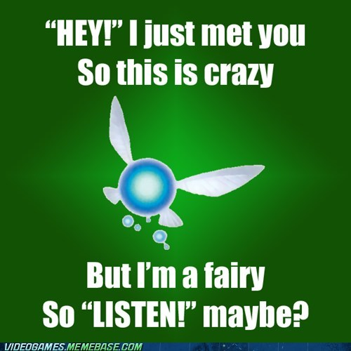 call me maybe hey listen meme zelda - 6256276736