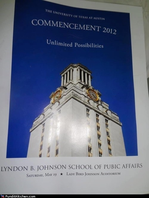 FAIL graduation Hall of Fame lbj lyndon johnson oops political pictures typo
