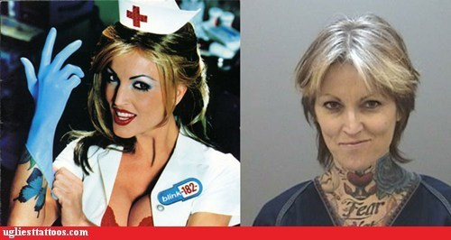 album cover blink 182 g rated Music nurse Ugliest Tattoos - 6256658688