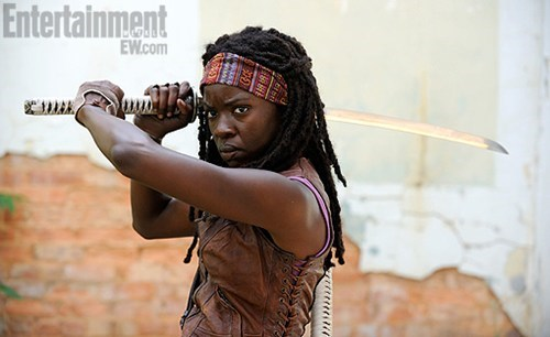 michonne The Walking Dead tv shows - 6256813824