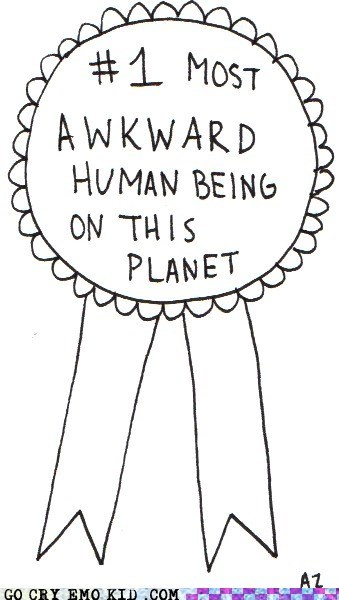 award Awkward best of week congratulations weird kid winner - 6256870656