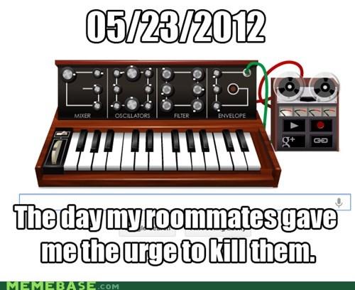 Death,google,Memes,moog,roommates
