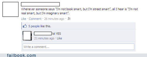 book smart,intelligent,smart,street smart