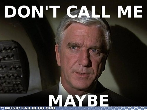 airplane call me maybe carly rae jepsen leslie nielsen - 6257092352