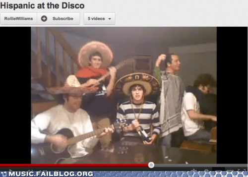 hispanic Panic at the Disco spanish youtube - 6257104896