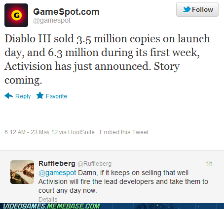 activision,diablo,diablo III,gamestop,twitter