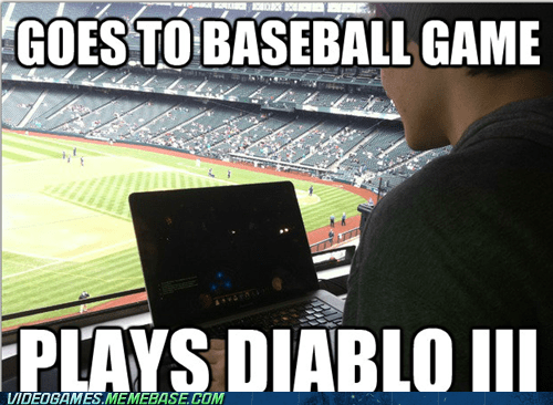 baseball diablo diablo III PC sports
