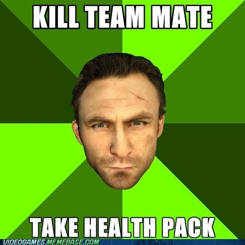 griefer health pack Left 4 Dead meme - 6257185280