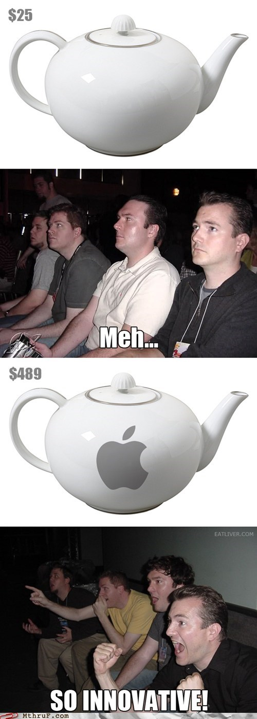 apple im-a-little-teapot price gouging reaction guys teapot