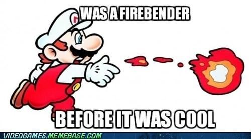 Avatar firebender hipster mario - 6257441024