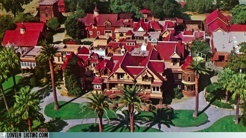 crazy haunted San José winchester mystery house