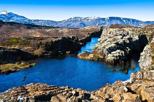 Iceland lake mountains rocks - 6257574912