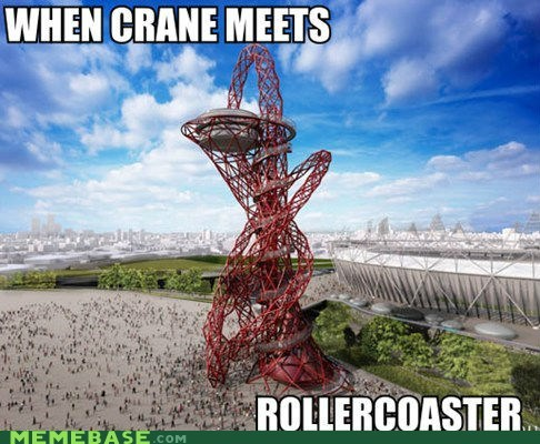 crane London Memes olympics roller coaster what - 6257634048