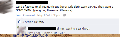 facebook,gentlemen,men,relationships,sandwich