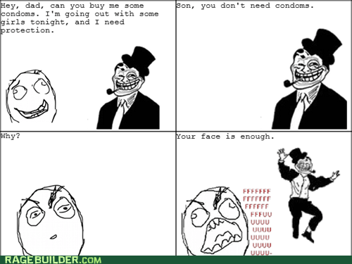 fu guy,Rage Comics,sexytimes,troll dad